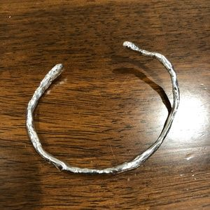 Mr. Kate Silver Twig Cuff Bracelet